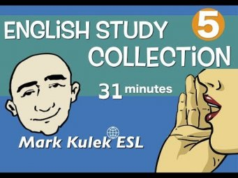English Study Collection #5 - linking verbs, jobs, talk about yourself + more | Mark Kulek - ESL