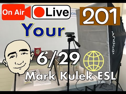 Your (possessive) - Mark Kulek Live Stream Lesson  | #201 - English Practice - ESL