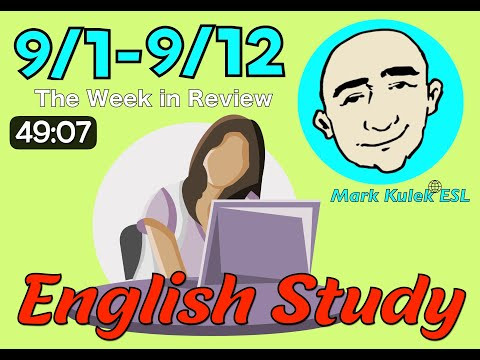 Do Verbs, Adjectives + more (English study & review) | Mark Kulek - ESL