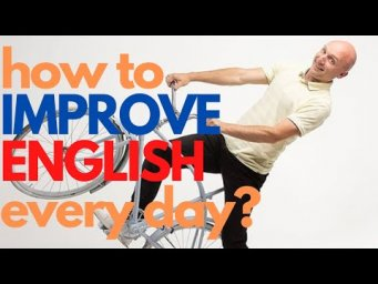 How to IMPROVE ENGLISH every day? A day in the life of an ENGLISH LEARNER.